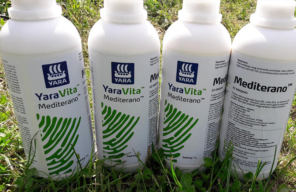 YaraVita Mediterano koncentrirano folijarno gnojivo